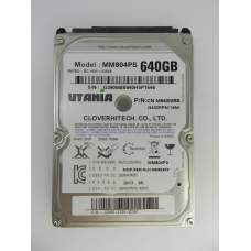 "Жесткий диск 2.5"" SATA-III UTania 640Gb 16Mb 5400 rpm, Model: MM804PS P/N: CN-M640MBB"
