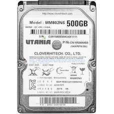 "Жесткий диск 2.5"" SATA-III UTania 500Gb 16Mb 5400 rpm, Model: MM802NS P/N: CN-M500MBB"