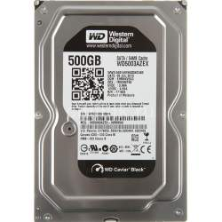 "Жесткий диск 3.5"" SATA 500Gb WD Black 64Mb 7200 rpm (WD5003AZEX)"