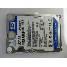 "2.5"" SATA-II 320Gb Western Digital [WD3200BPVT] 8Mb 5400rpm"