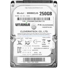 "Жесткий диск 2.5"" SATA-III UTania 250Gb 8Mb 5400 rpm, Model: MM802JS P/N: CN-M250MBB"